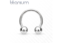 Циркуляры Titanium Horseshoe with Balls